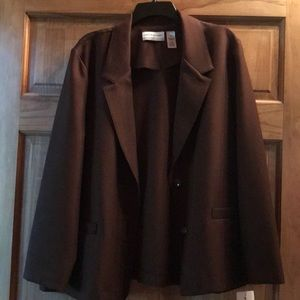 18P brown Alfred Dunner jacket